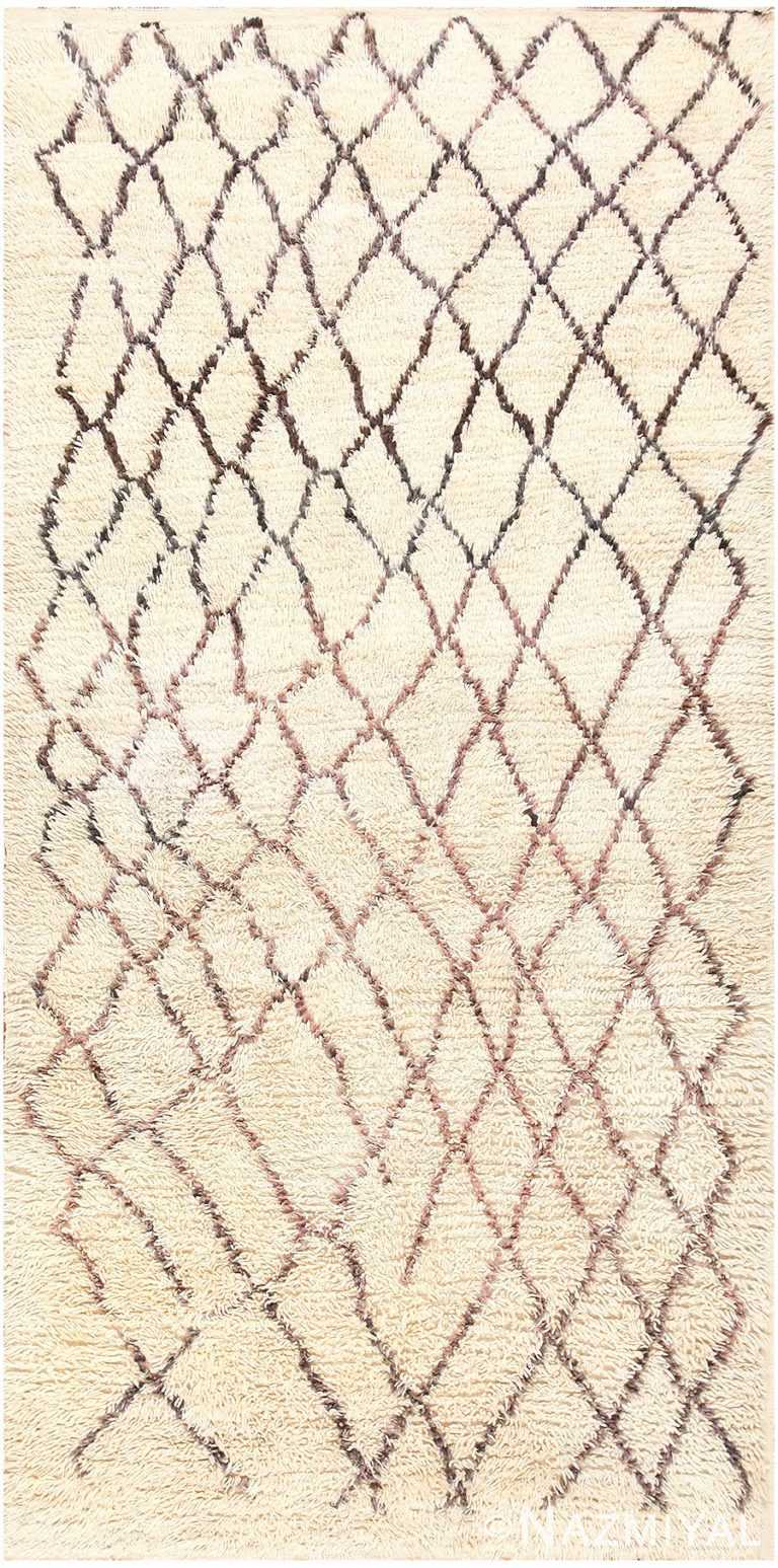 Vintage Moroccan Rug 45096 Detail/Large View