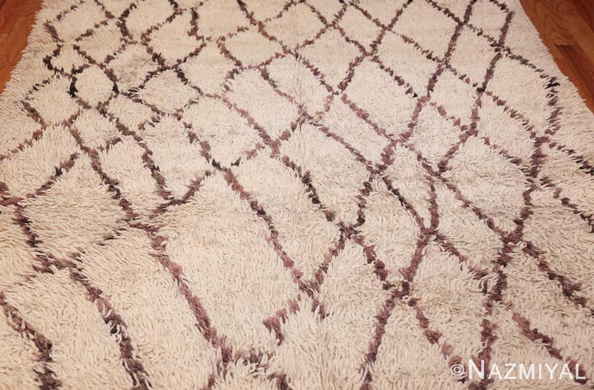 vintage moroccan rug 45096 field Nazmiyal