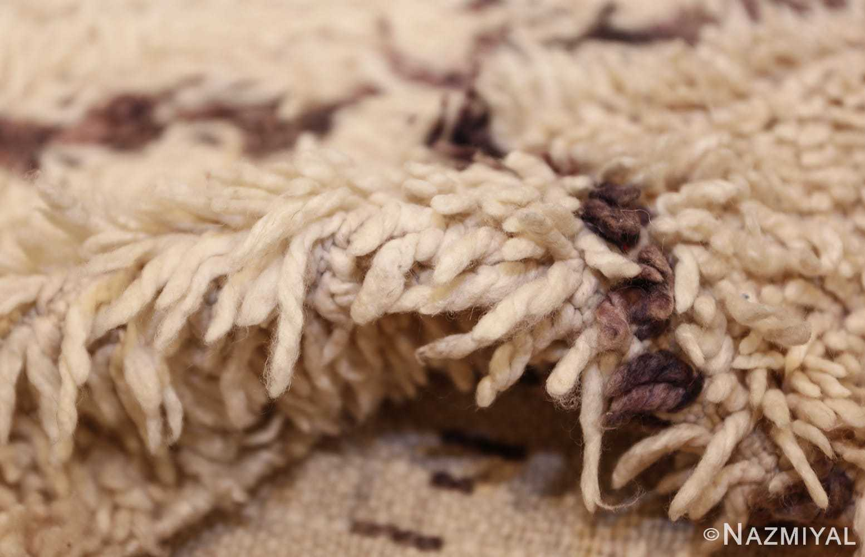 vintage moroccan rug 45096 pile Nazmiyal