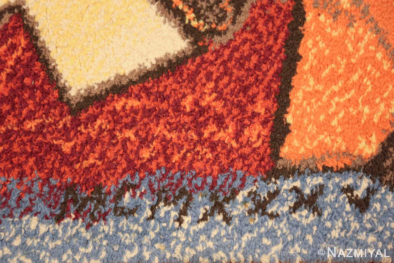 vintage pablo picasso rug 48120 date Nazmiyal