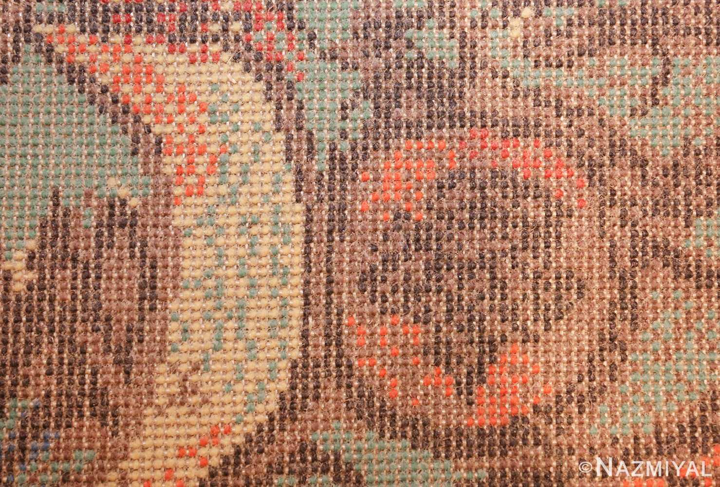 vintage pablo picasso rug 48120 knots Nazmiyal