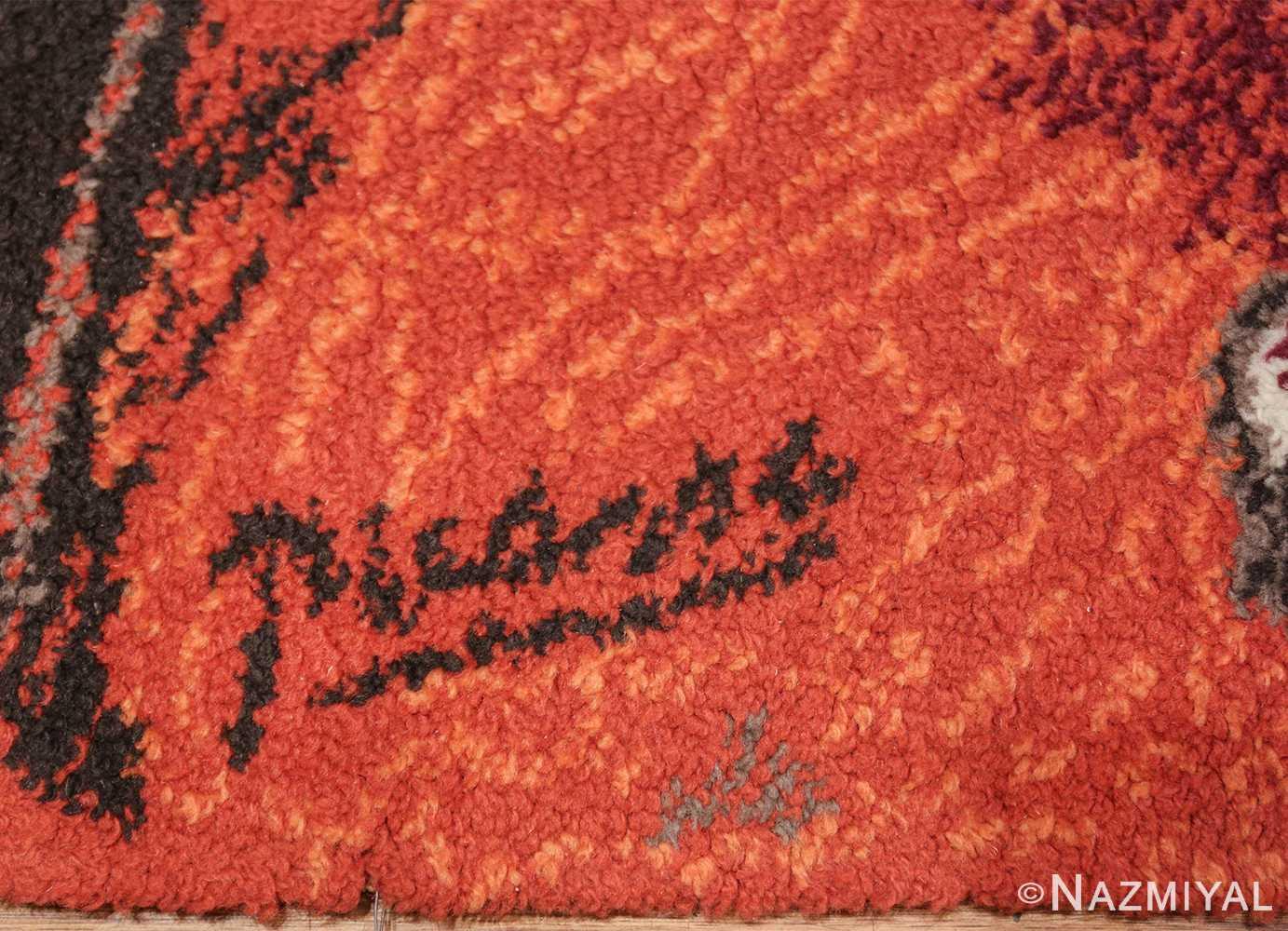 vintage pablo picasso rug 48120 picasso Nazmiyal