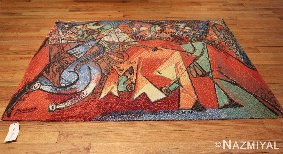vintage pablo picasso rug 48120 whole Nazmiyal