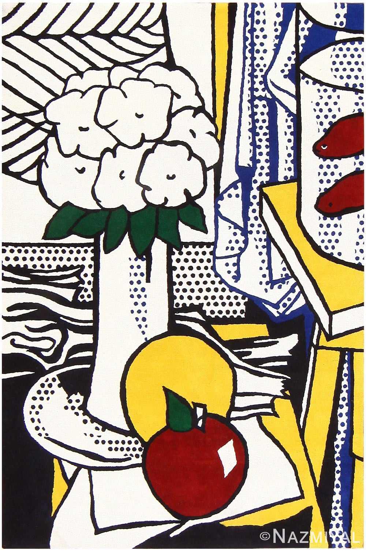 Vintage Roy Lichtenstein Rug 48095 Nazmiyal
