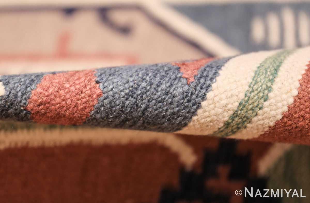 vintage scandinavian swedish rug 48116 pile Nazmiyal