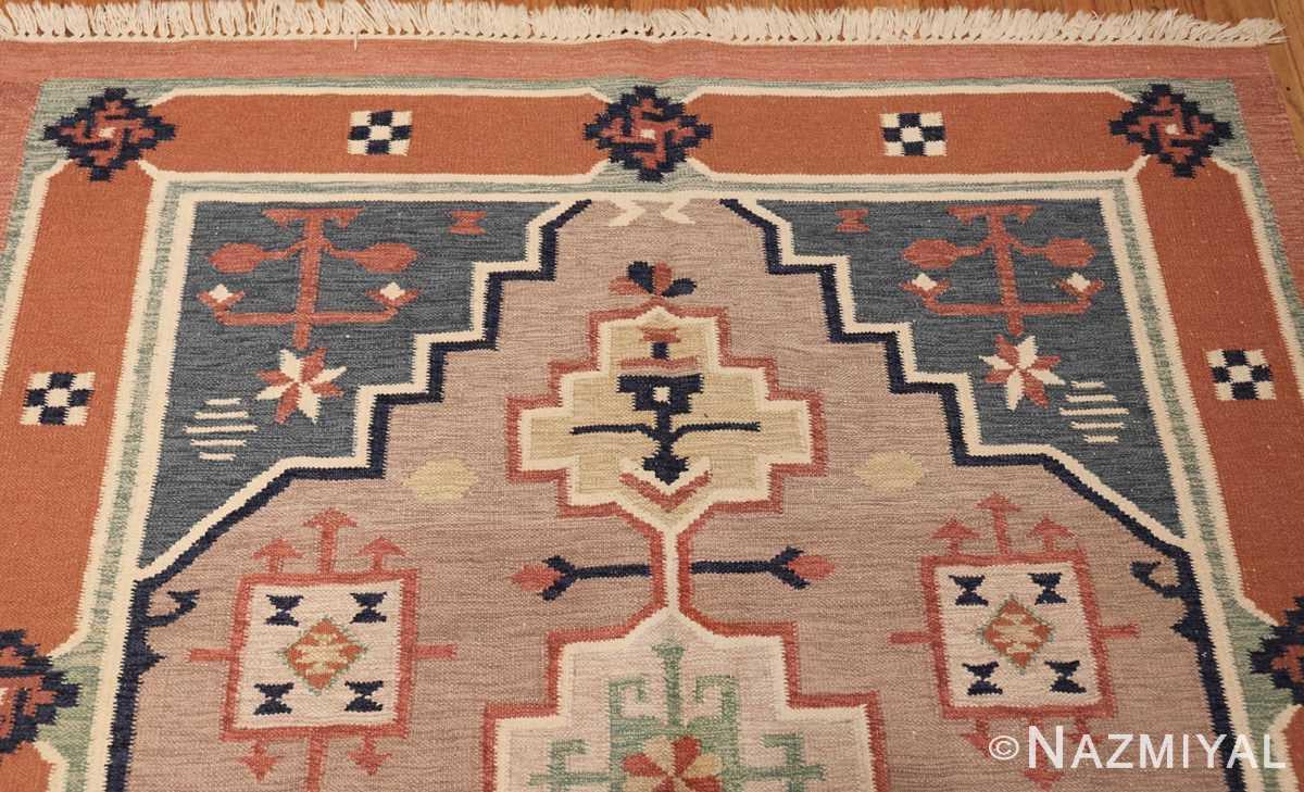 vintage scandinavian swedish rug 48116 top Nazmiyal