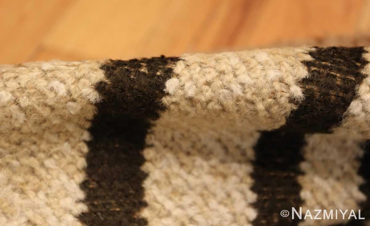 vintage scandinavian swedish rya rug 48086 pile Nazmiyal