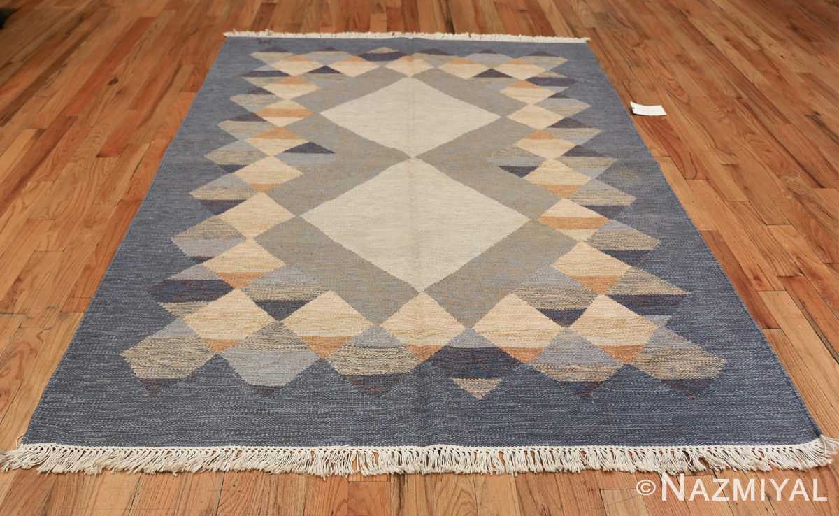 vintage swedish kilim 48110 whole Nazmiyal