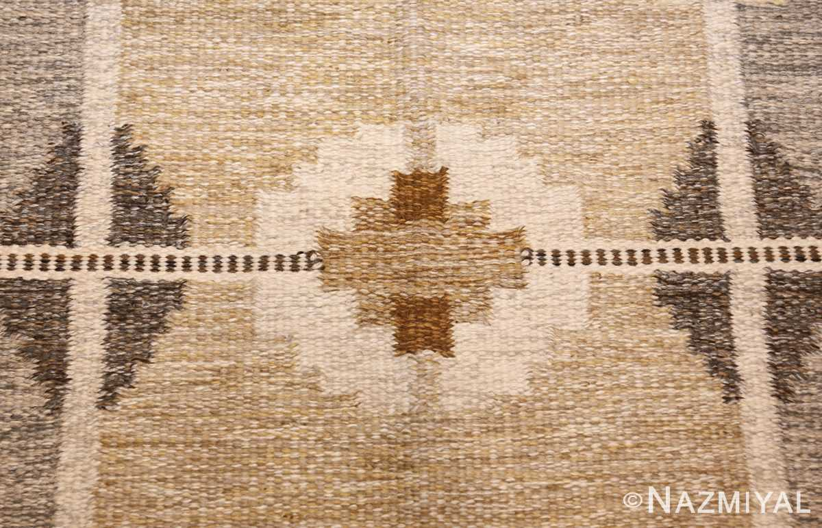 vintage swedish kilim by ingegerd silow 48109 design Nazmiyal