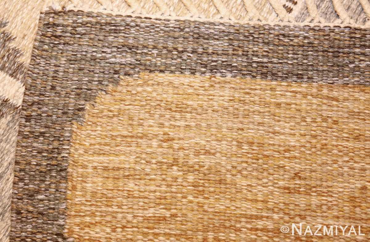 vintage swedish kilim by ingegerd silow 48109 weave Nazmiyal