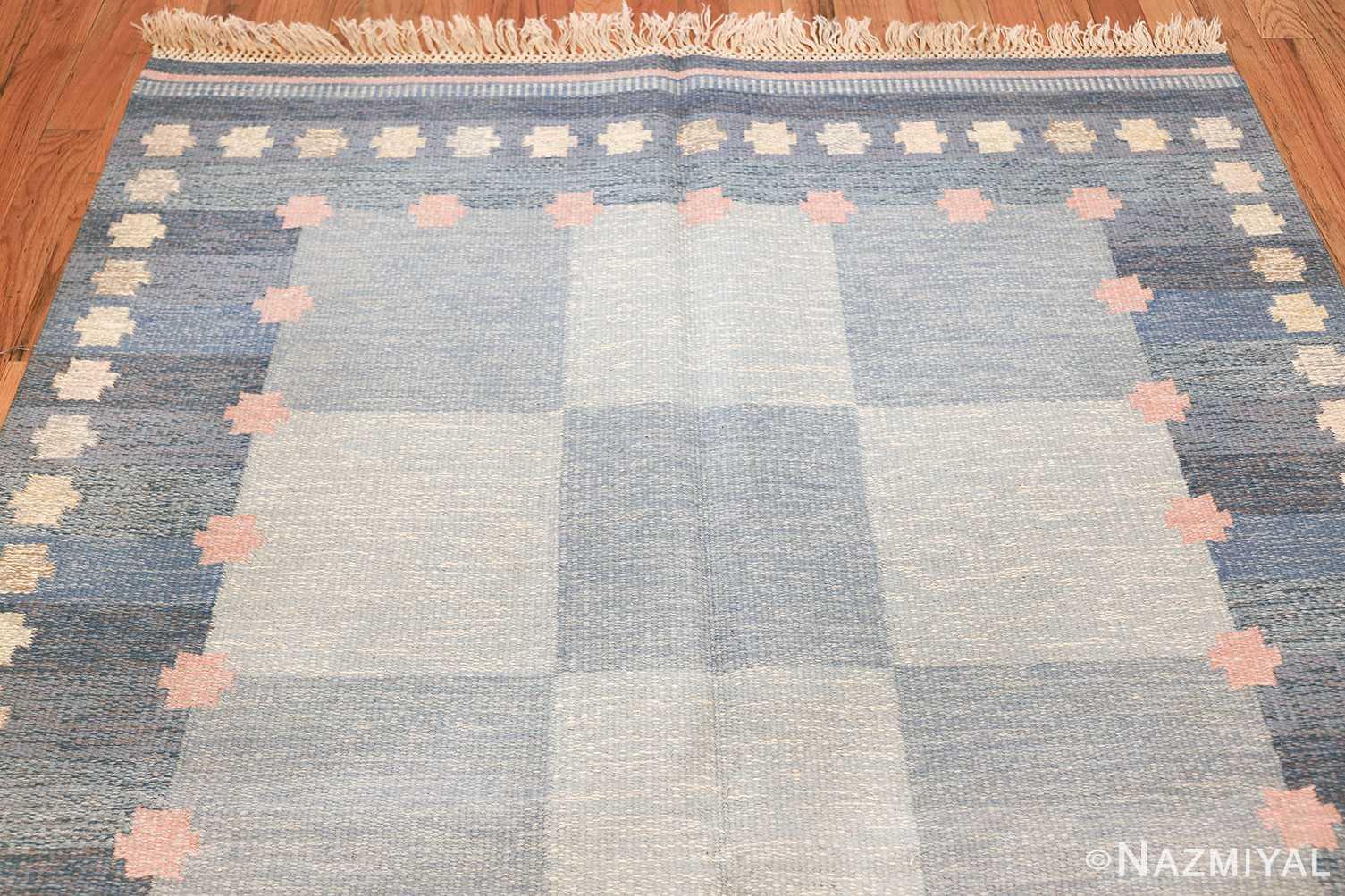 Vintage Swedish kilim rug by Anna Joanna Angstrom 48111 top Nazmiyal