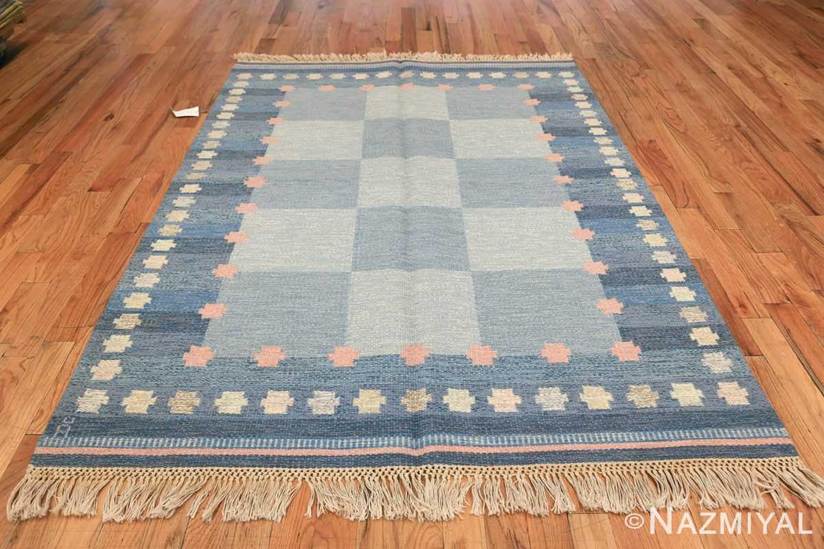 Vintage Swedish kilim rug by Anna Joanna Angstrom 48111 whole Nazmiyal