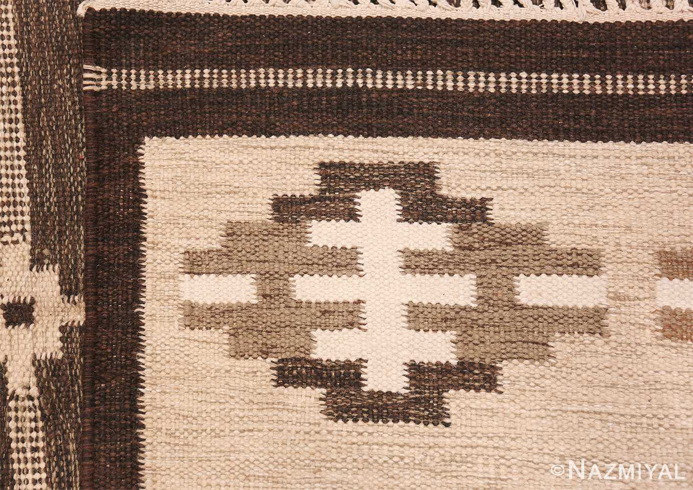 vintage swedish rug by karen jonsson 48119 knots Nazmiyal