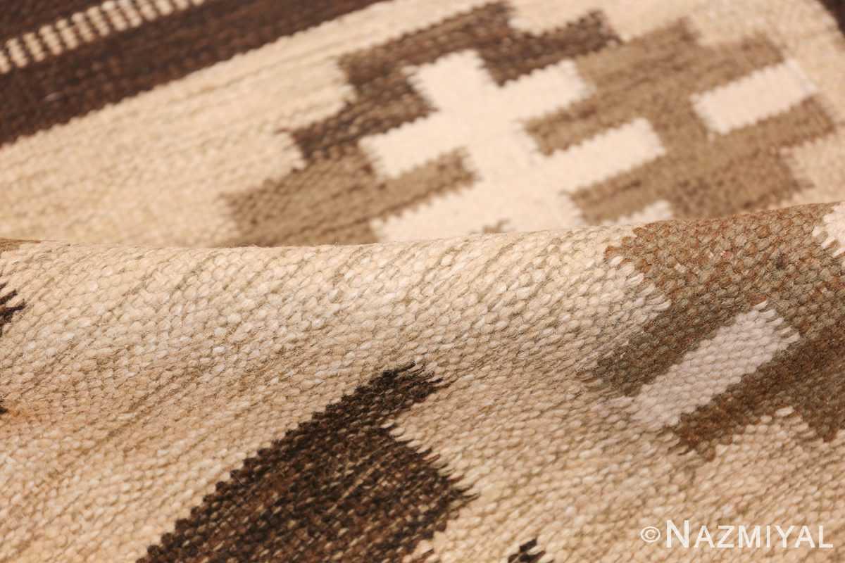 vintage swedish rug by karen jonsson 48119 pile Nazmiyal