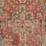 17th Century Khorassan Antique Persian Rug 3289