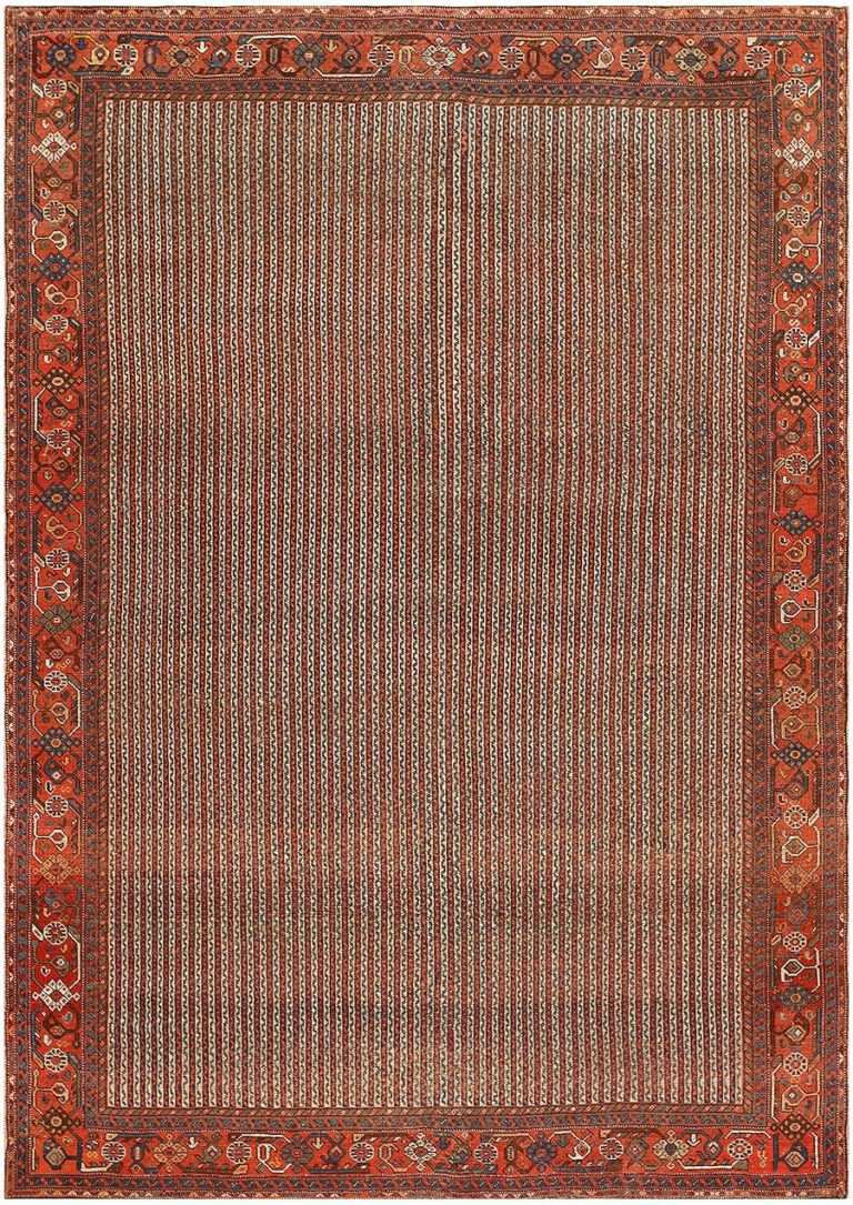 Antique Persian Ghashgai Carpet 47537 Nazmiyal