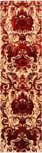 Antique Silk Velvet Textile from India 41491 Nazmiyal