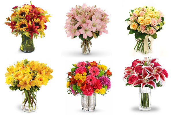Flowers of the Month Club by Nazmiyal Design Blog