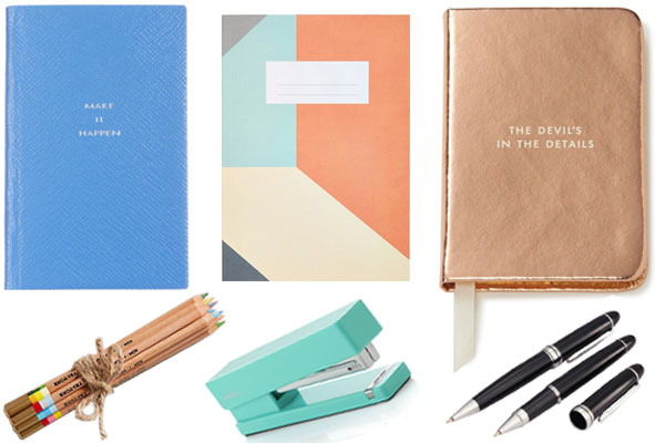 Planning Journals and Accessories by Nazmiyal Design Blog