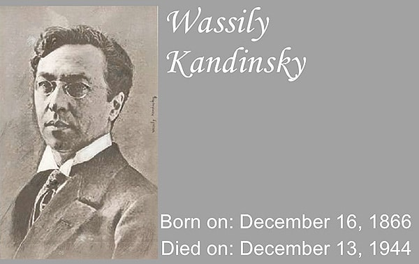 Wassily Kandinsky 1866 - 1944 Nazmiyal Blog