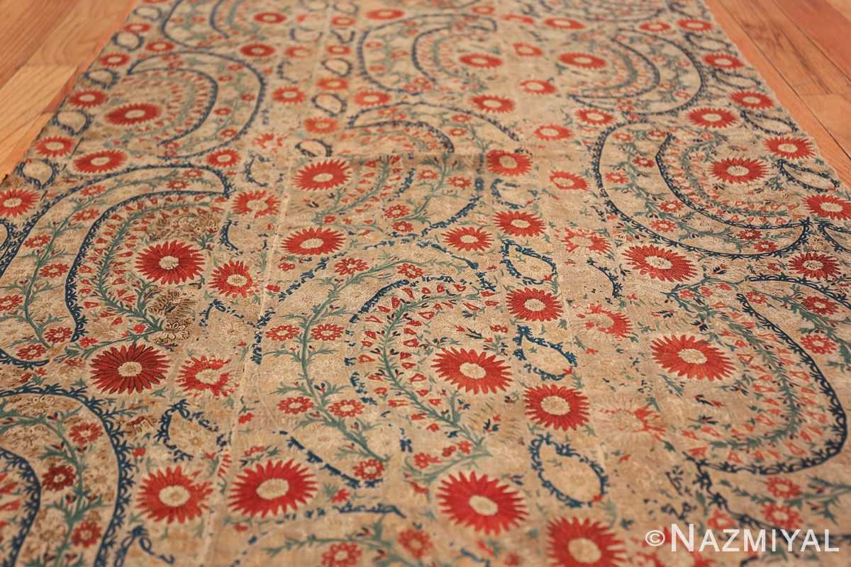 Antique 17th Century Ottoman Textile 41498 Field Design Low Nazmiyal