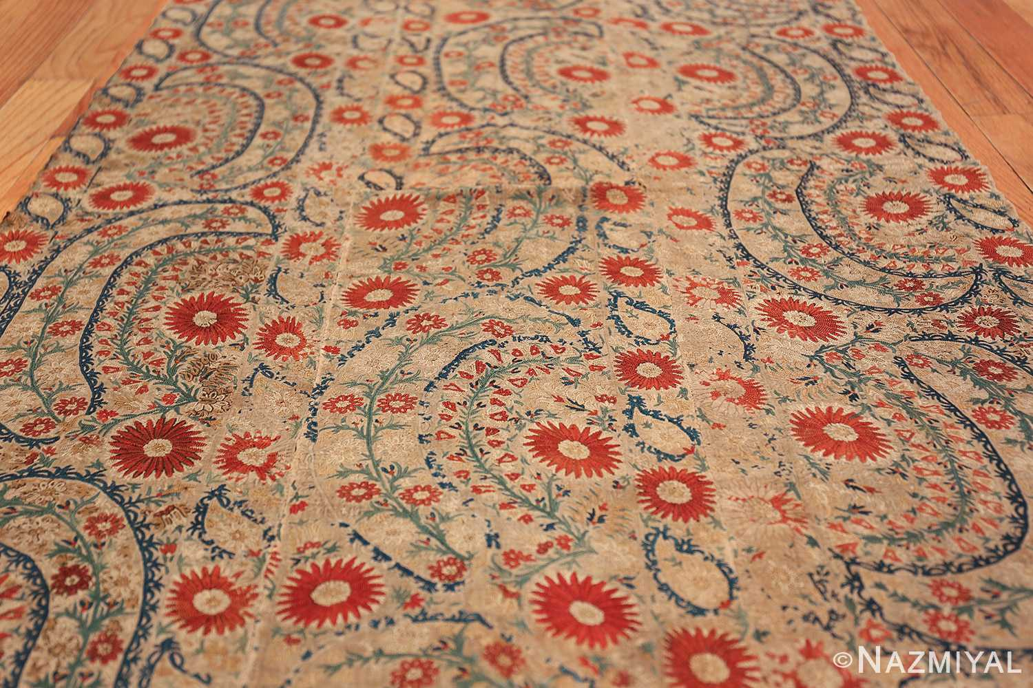 Antique 17th Century Ottoman Textile 41498 Field Design Low Nazmiyal