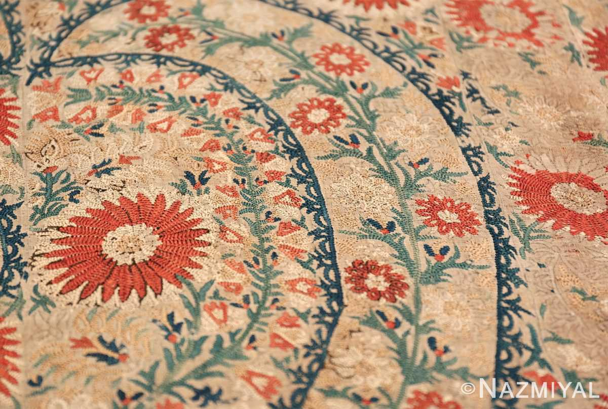 Antique 17th Century Ottoman Textile 41498 Top Design Leave Nazmiyal