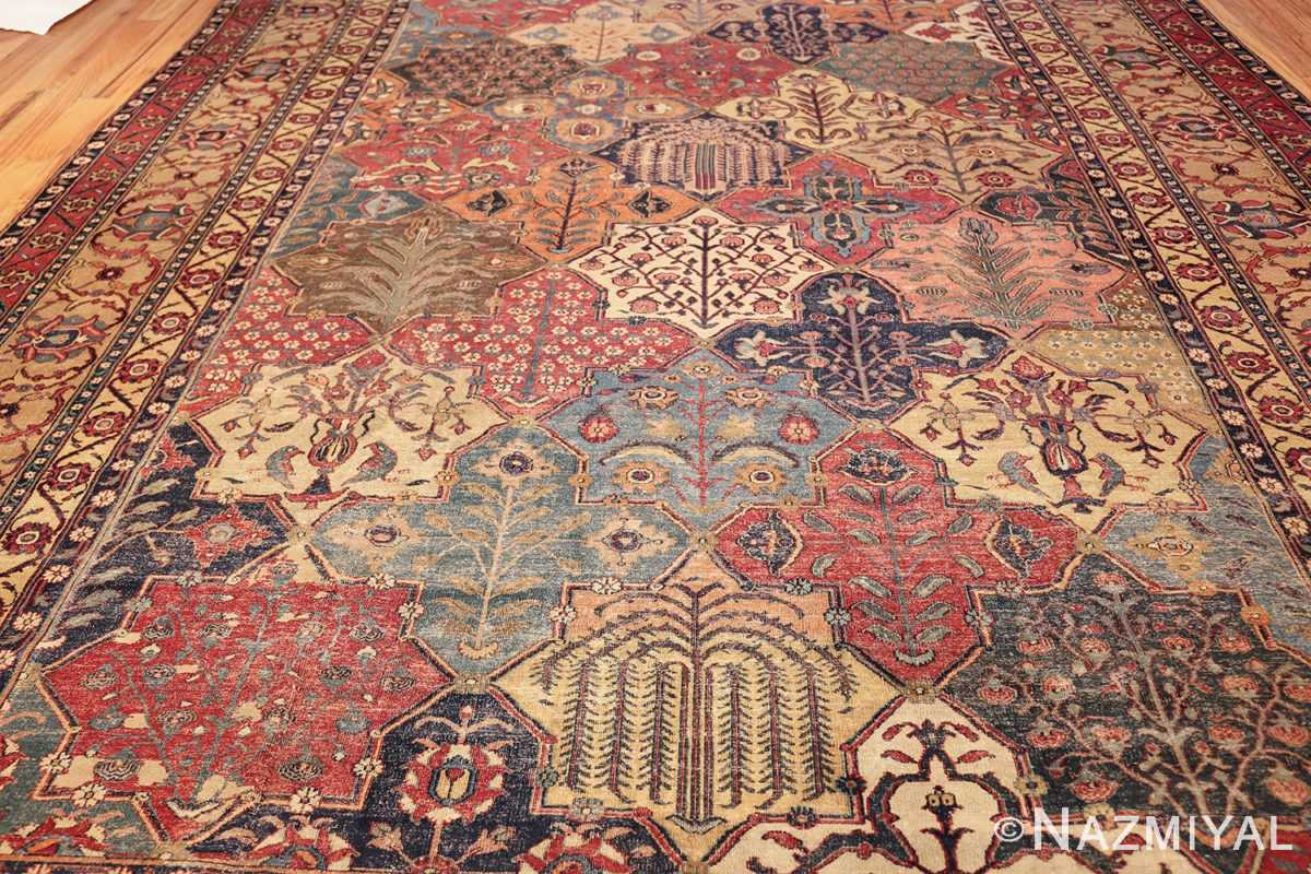 antique 17th century persian khorassan carpet from william a clark 47074 field Nazmiyal
