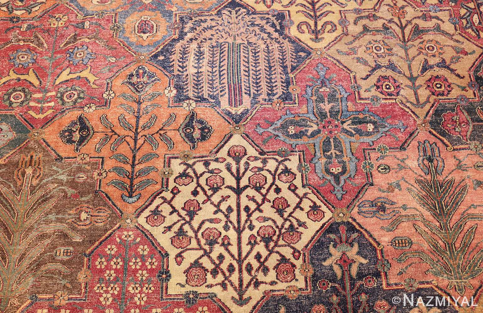 antique 17th century persian khorassan carpet from william a clark 47074 four Nazmiyal