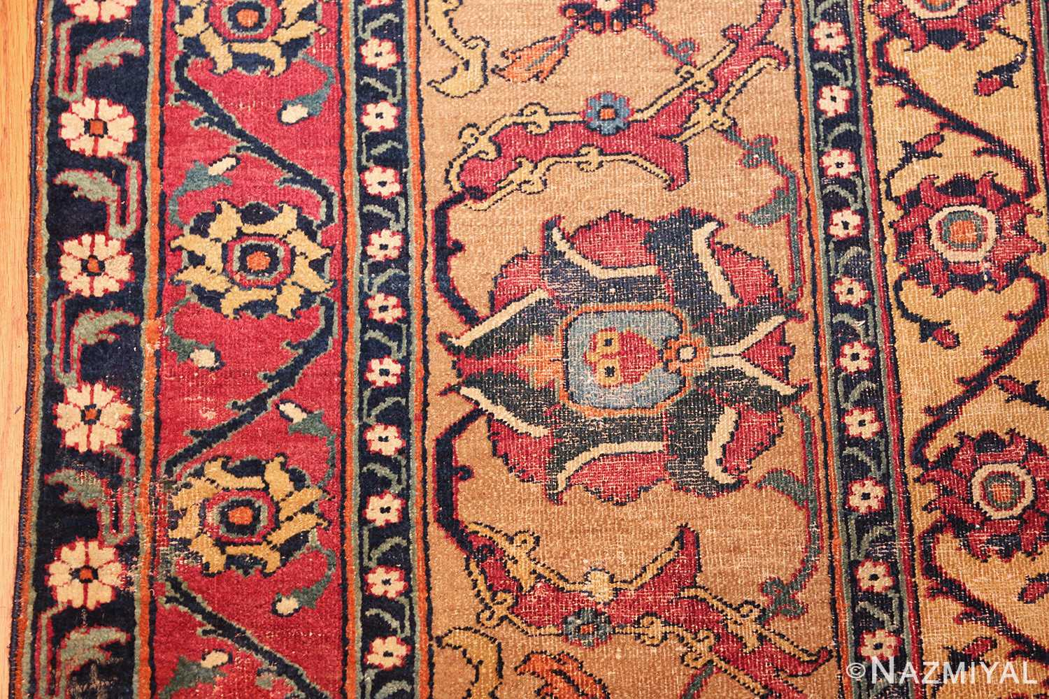 antique 17th century persian khorassan carpet from william a clark 47074 tiny Nazmiyal