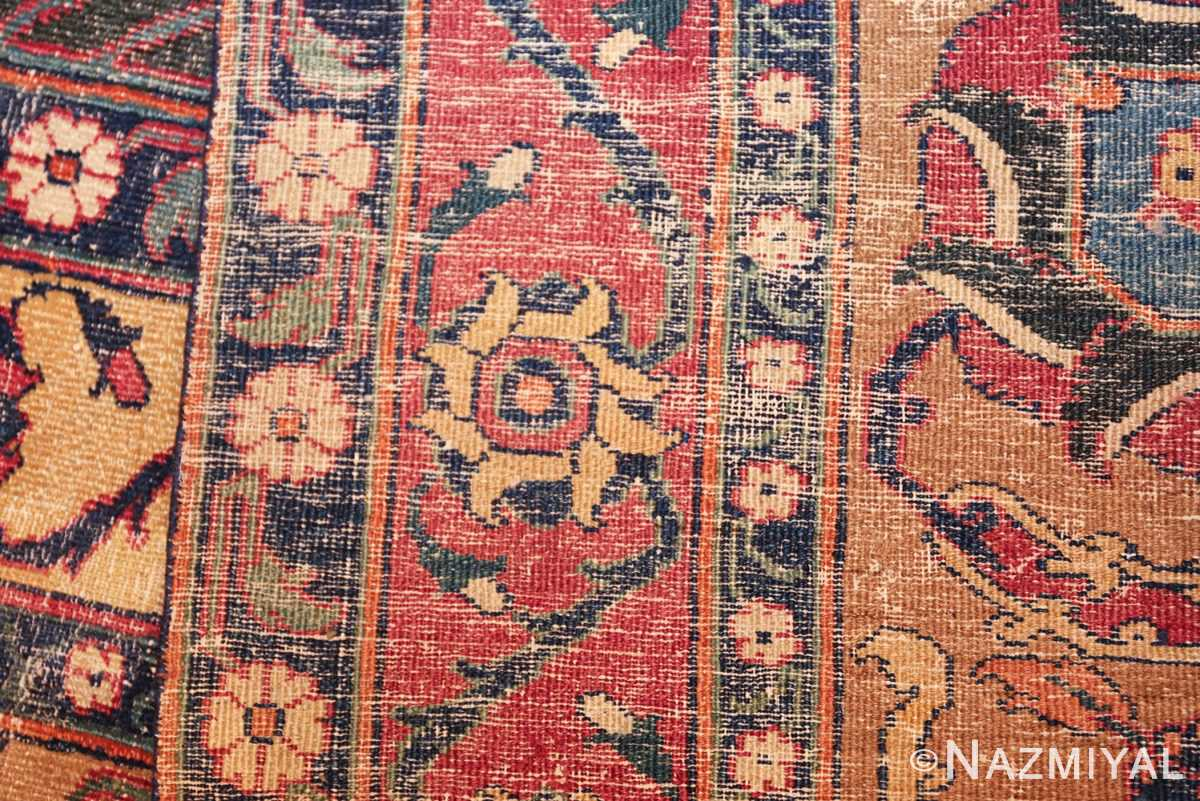 antique 17th century persian khorassan carpet from william a clark 47074 weave Nazmiyal