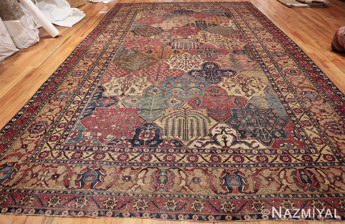 antique 17th century persian khorassan carpet from william a clark 47074 whole Nazmiyal