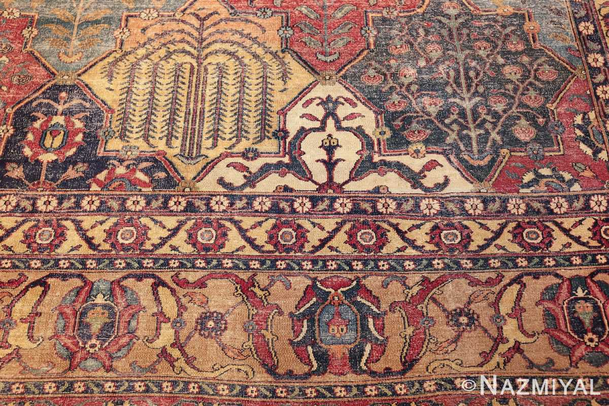 antique 17th century persian khorassan carpet from william a clark 47074 willow Nazmiyal