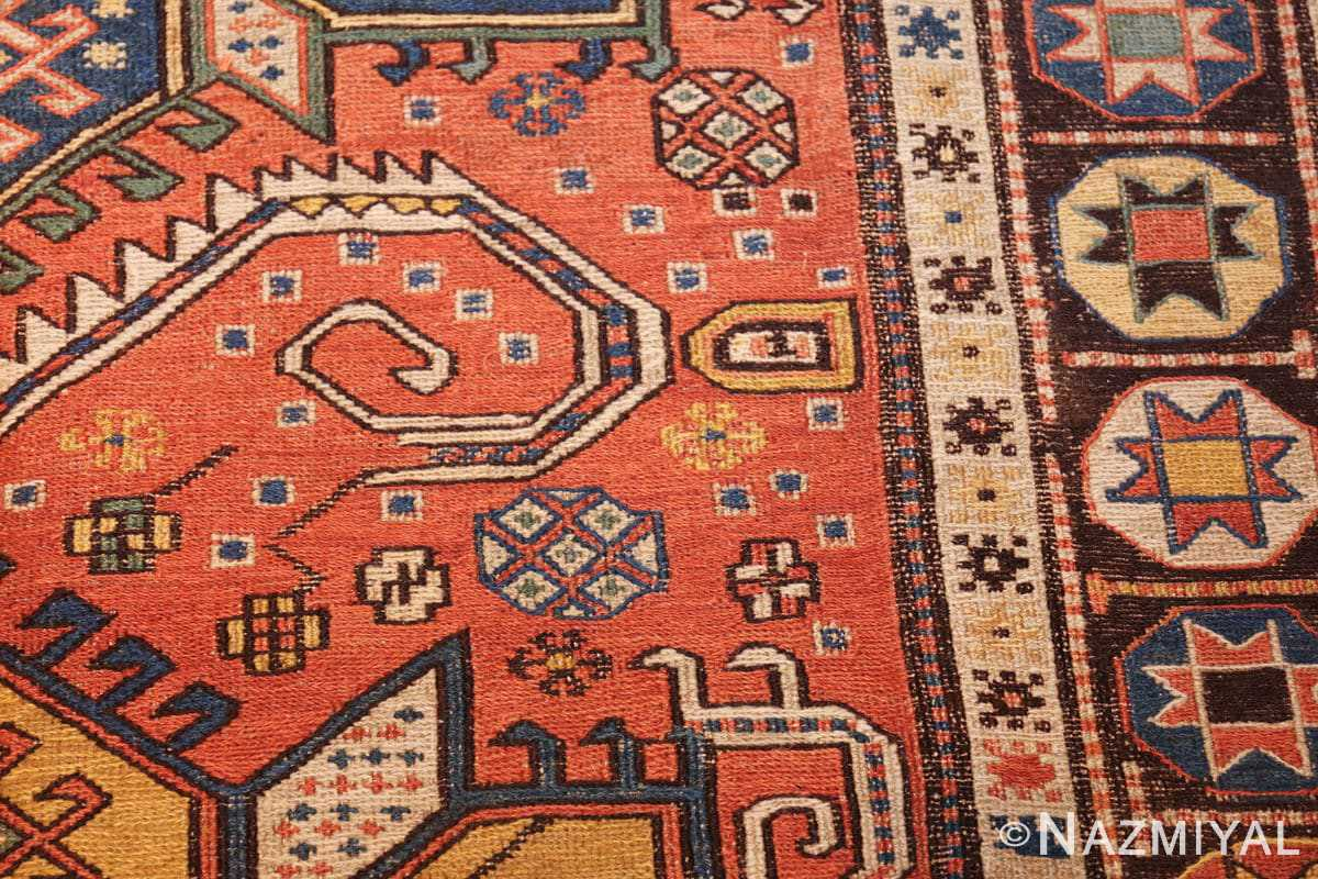 antique caucasian soumak rug 47147 side Nazmiyal