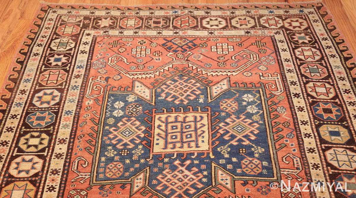 antique caucasian soumak rug 47147 top Nazmiyal