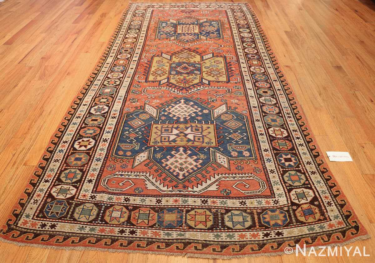 antique caucasian soumak rug 47147 whole Nazmiyal