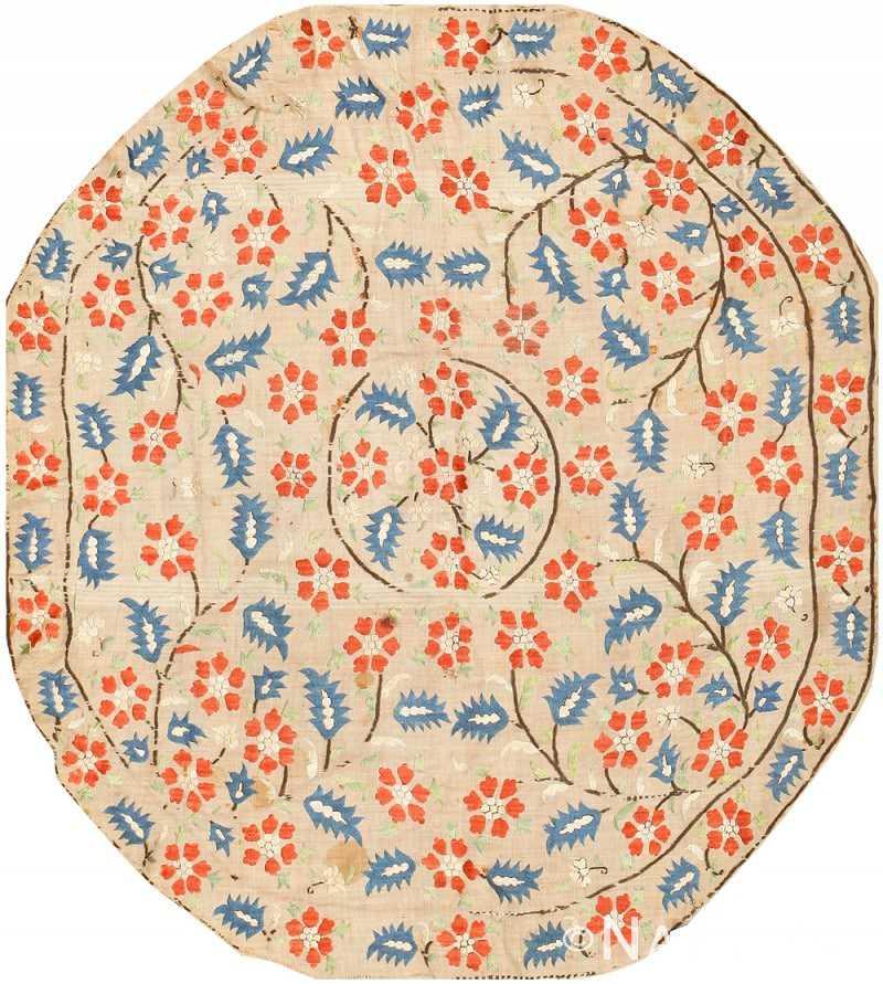 Antique Ottoman Embroidery Turkish Textile 41487 Nazmiyal