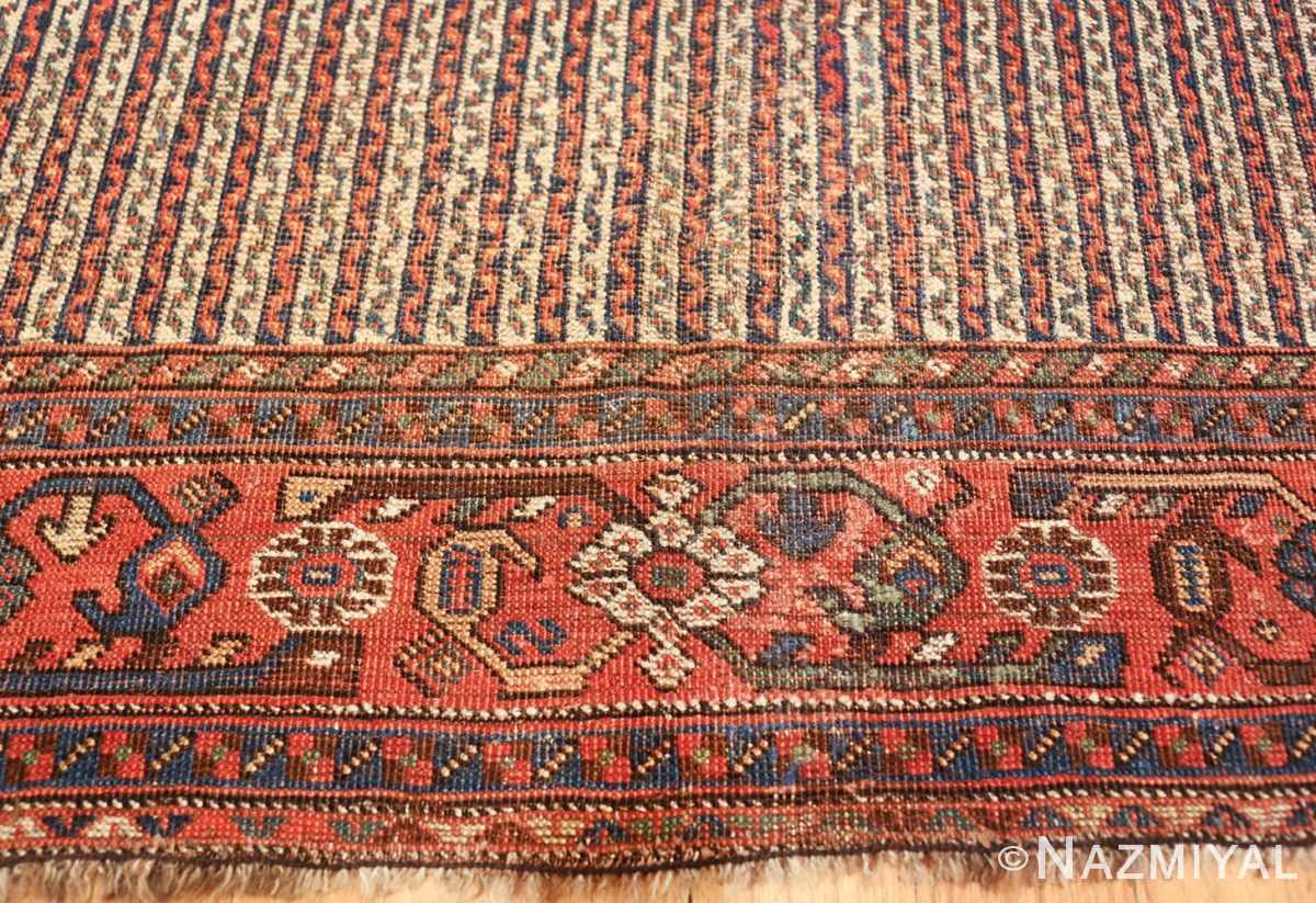 antique persian afshar carpet 47539 border Nazmiyal