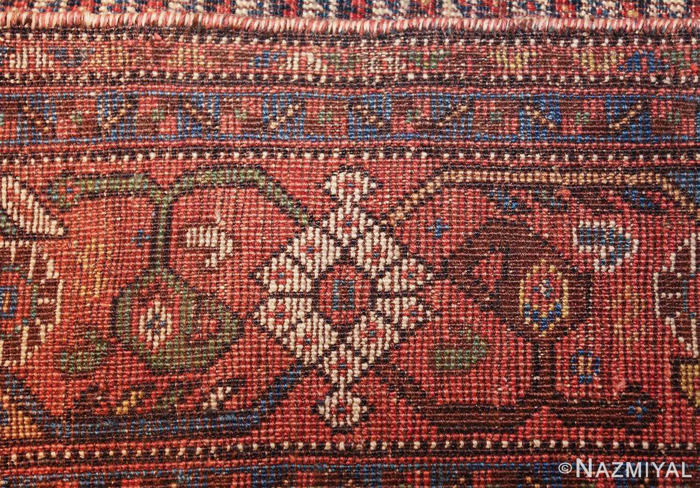 antique persian afshar carpet 47539 knots Nazmiyal