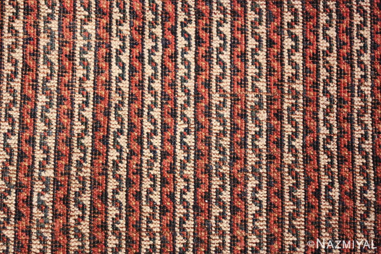 antique persian afshar carpet 47539 lines Nazmiyal