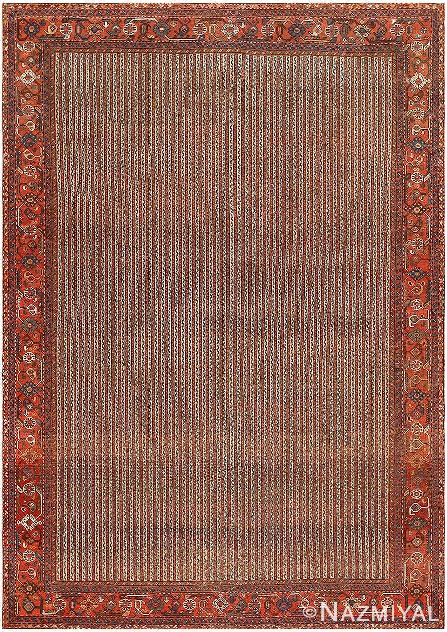 Antique Persian Ghashgai Carpet 47537 Nazmiyal