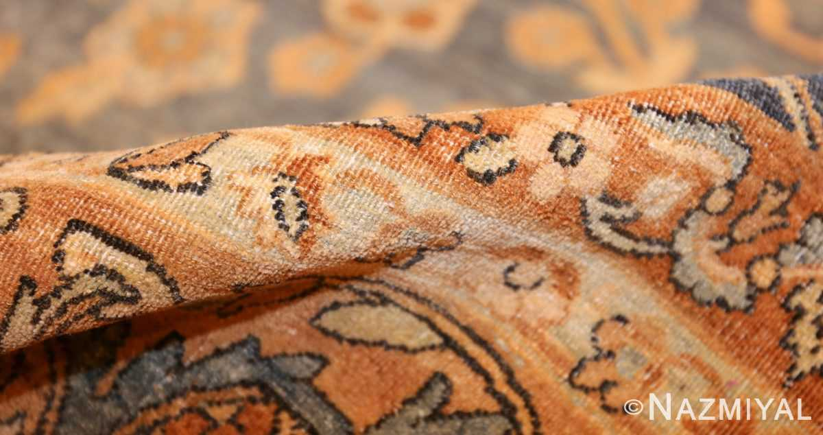 antique persian kerman rug 47316 pile Nazmiyal