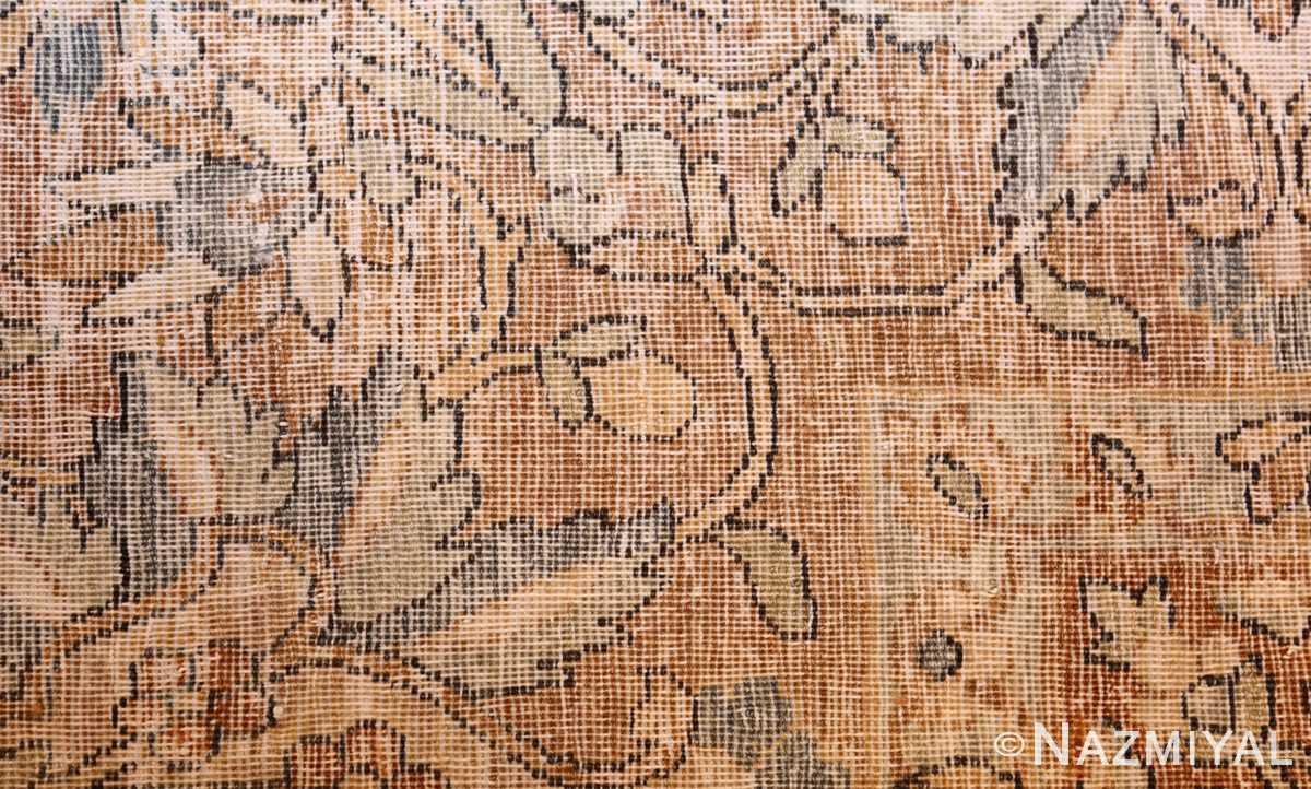 antique persian kerman rug 47316 weave Nazmiyal