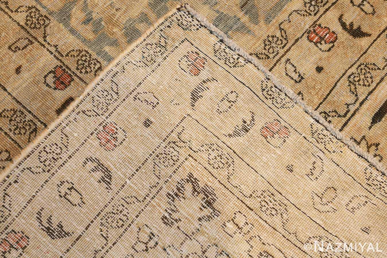 antique persian khorassan carpet 47648 weave Nazmiyal