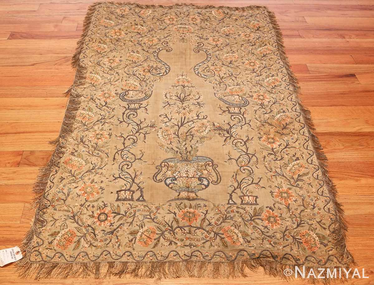 antique silk persian textile 8386 whole Nazmiyal