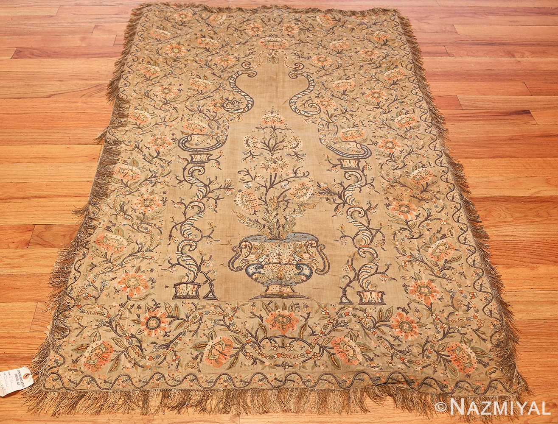 antique silk persian textile 8386 whole Nazmiyal