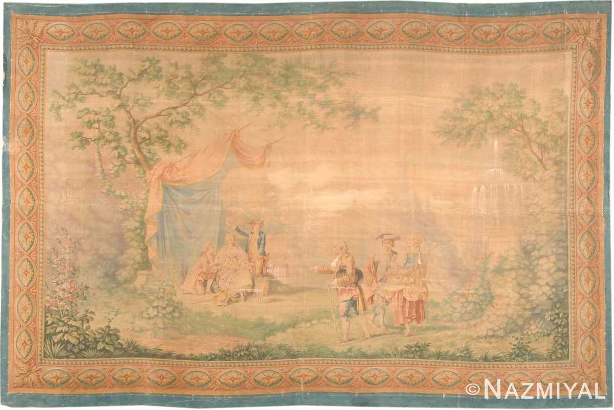 Antique Tapestry Rug 3096 Detail/Large View