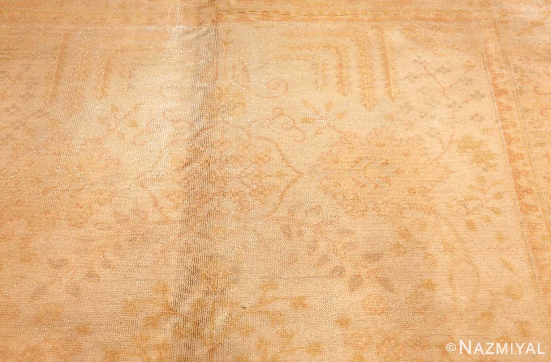antique turkish oushak rug 48000 design Nazmiyal