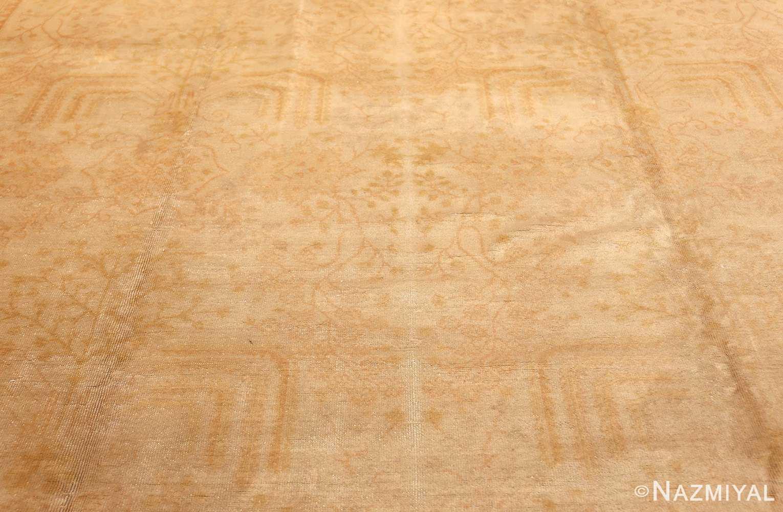 antique turkish oushak rug 48000 field Nazmiyal