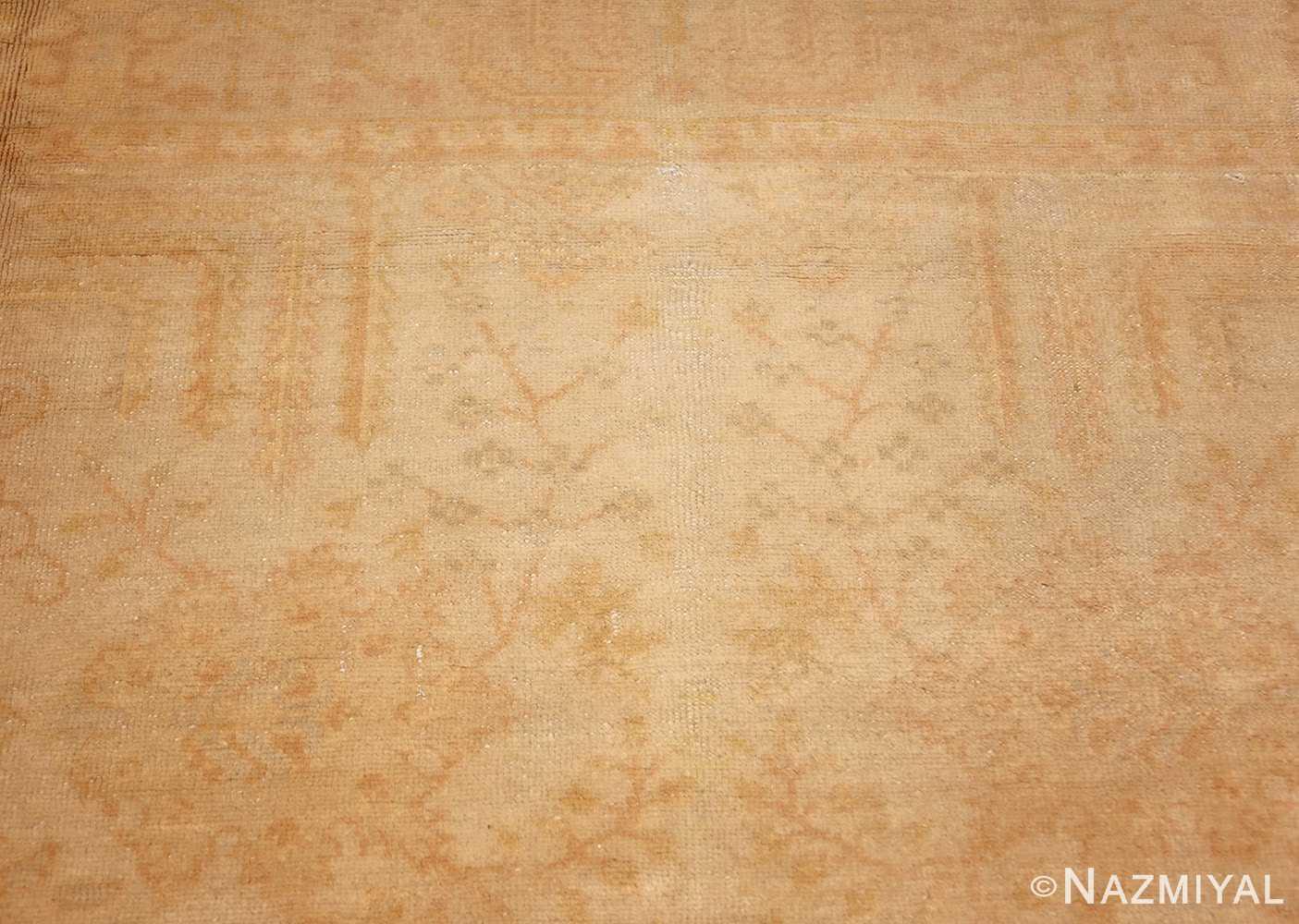 antique turkish oushak rug 48000 top Nazmiyal
